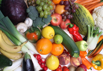 Composition of fruits and vegetables