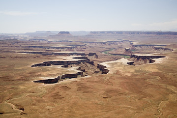 Canyon lands USA near Moab
