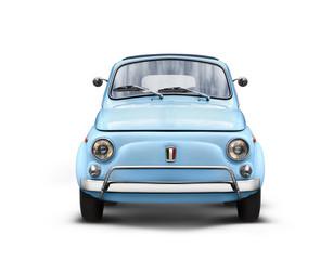 Voiture Italienne sur Fond Blanc