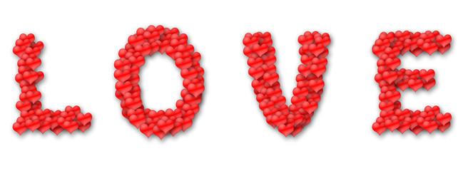 Amore fatto di cuori