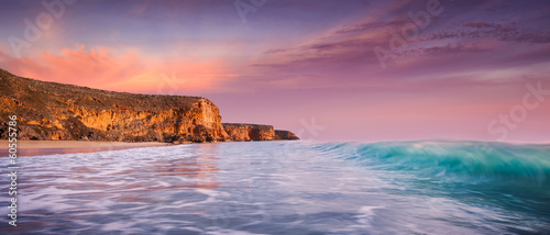 canvas print picture Paradise Sunset