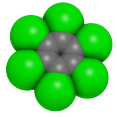 Hexachlorobenzene (perchlorobenzene, HCB) banned fungicide
