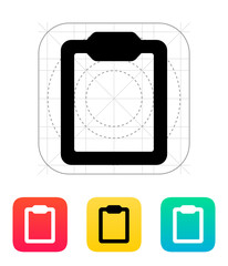Clipboard icon.