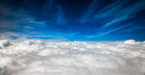 Fototapety blue sky with clouds