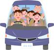 三世代家族ドライブ
