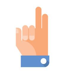 Flat Hand Gesture