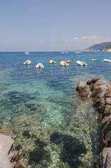 Sant' Andrea, Badeort, Boote, Insel Elba, Italien