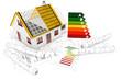 Rohbau Einfamilienhaus ohne Pläne, Energieeffizienz