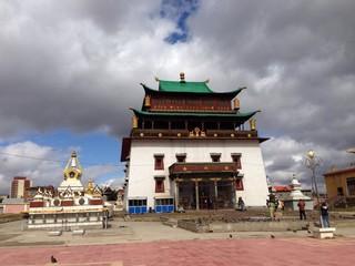 Gandan monastery Ulaanbaatar