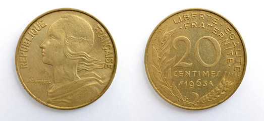 Coin 20 centimes