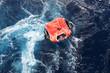 Leinwandbild Motiv Life Raft