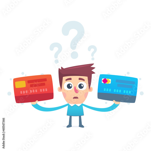 The problem of choosing a credit card