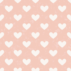 seamless pink heart pattern