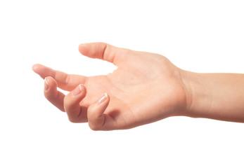 Keeping human hand