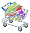 Shopping trolley books