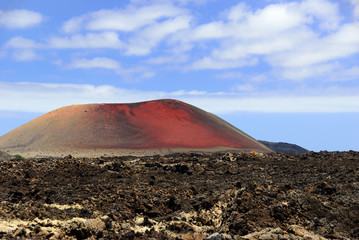 Mountain Colorado, Lanzarote