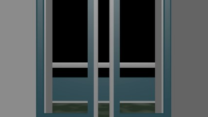 クロマキー動画用素材(展望エレベーターE)