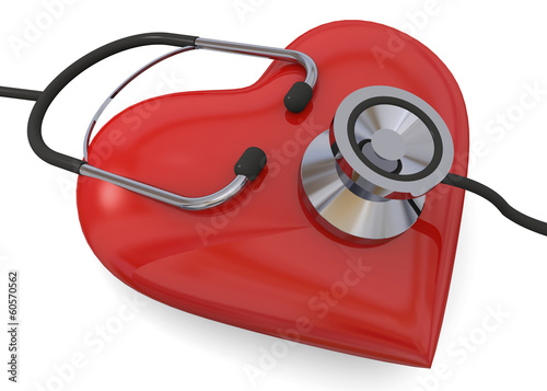 Illness Heart - 3D