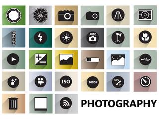 Photography icon symbol