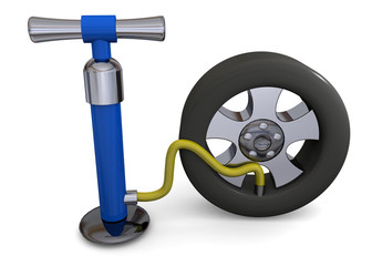 PUMP AND WHEEL - 3D