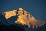 Mt. Everest at sunset