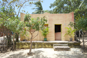 Simple Brazilian Village Home Architecture