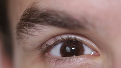 Stressed eye