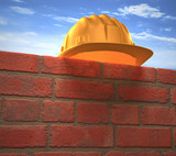 Hard Hat Wall