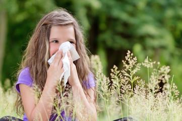 Gräserallergie