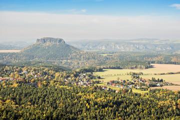 Saxon Switzerland with Lilienstein