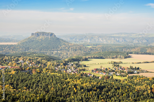 Saxon Switzerland with Lilienstein