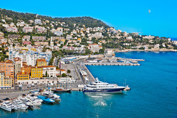 Port of Nice. France. Seascape.