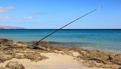 Fishing in Costa Calma, Fuerteventura.