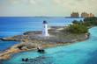 Leinwandbild Motiv nassau bahamas and lighthouse