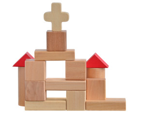 Church blocks toy