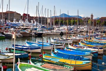 Port of Nice.