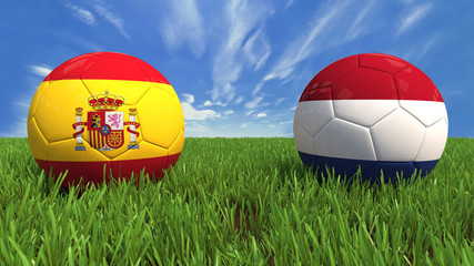 Spain-Netherlands