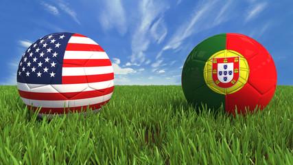 USA Portugal