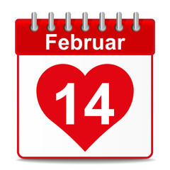14 Februar Valentinstag