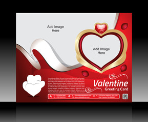 Valentine Day Flyer Template