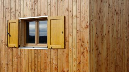 Fenêtre sur maison  ossature bois