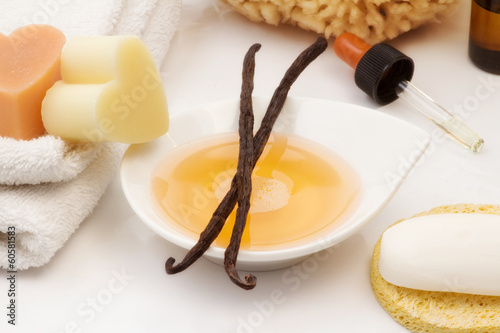 vanilla spa accessories
