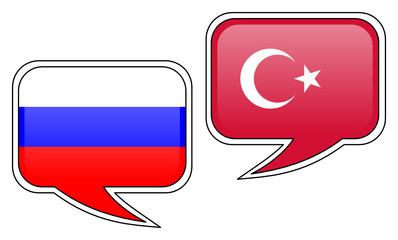 Russian-Turkish Conversation