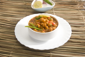Chana Masala or Spicy Chickpeas