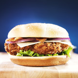 fast food crispy chicken sandwich