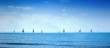 Sailing boat yacht regatta race on sea or ocean water - 60584126