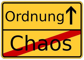 Chaos Ende