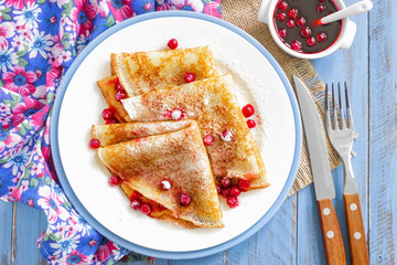 Shrove Tuesday pancakes