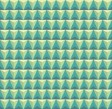 Abstract pattern. Green background geometric pattern of triangle