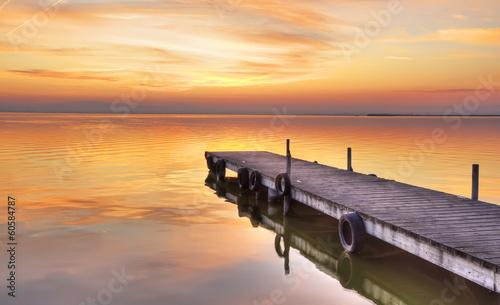 Fotobehang Een Hoekje om te Dromen cuando no queda nadie en el mar